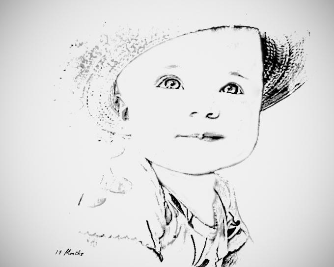 Baby & Toddler Digital Sketch