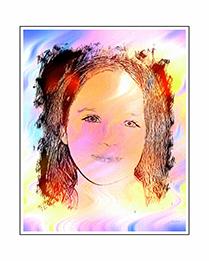 Digital Sketch Colorsplash with Frame PreK-12 Add-On